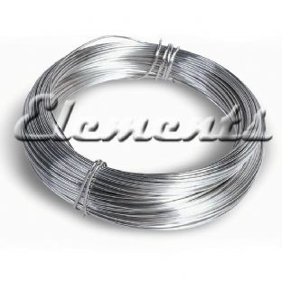 Sterling Silver Soft Round Wire 0.3mm - 1mm